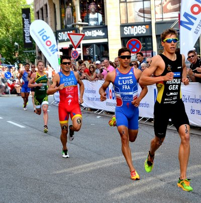 Gewinner des ITU World Elite Triathlon 2015: Vincent Luis