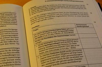 Wedde, Handbuch Datenschutz und Mitbestimmung, 4. Kapitel (S. 187)